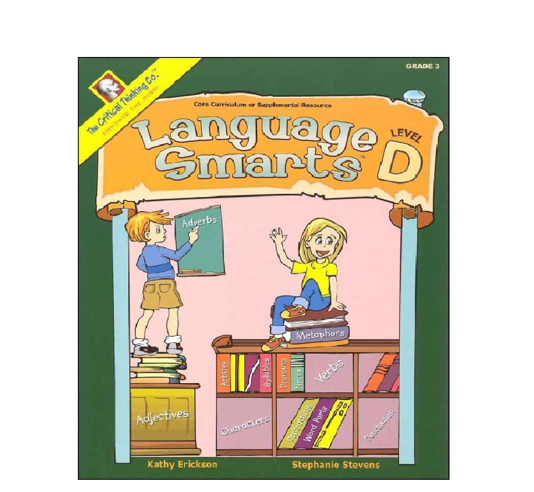 Language Smarts Level D - Reading, Writing, Grammar, and Punctuation for Grade 3 by Critical Thinking Co.