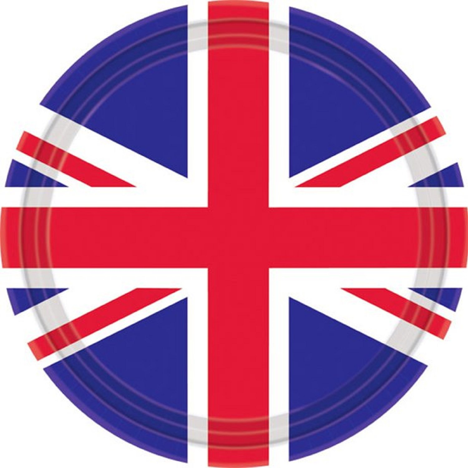 Fancy Me Great Britain Party Napkins Red White Blue Union Jack British Celebration Event Party Sports Royal Wedding Party Paper Tableware (Great Britain Napkins)