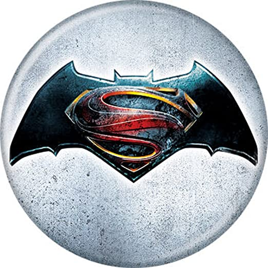 Batman V Superman Dawn Of Justice Logo Red And Blue S On Black