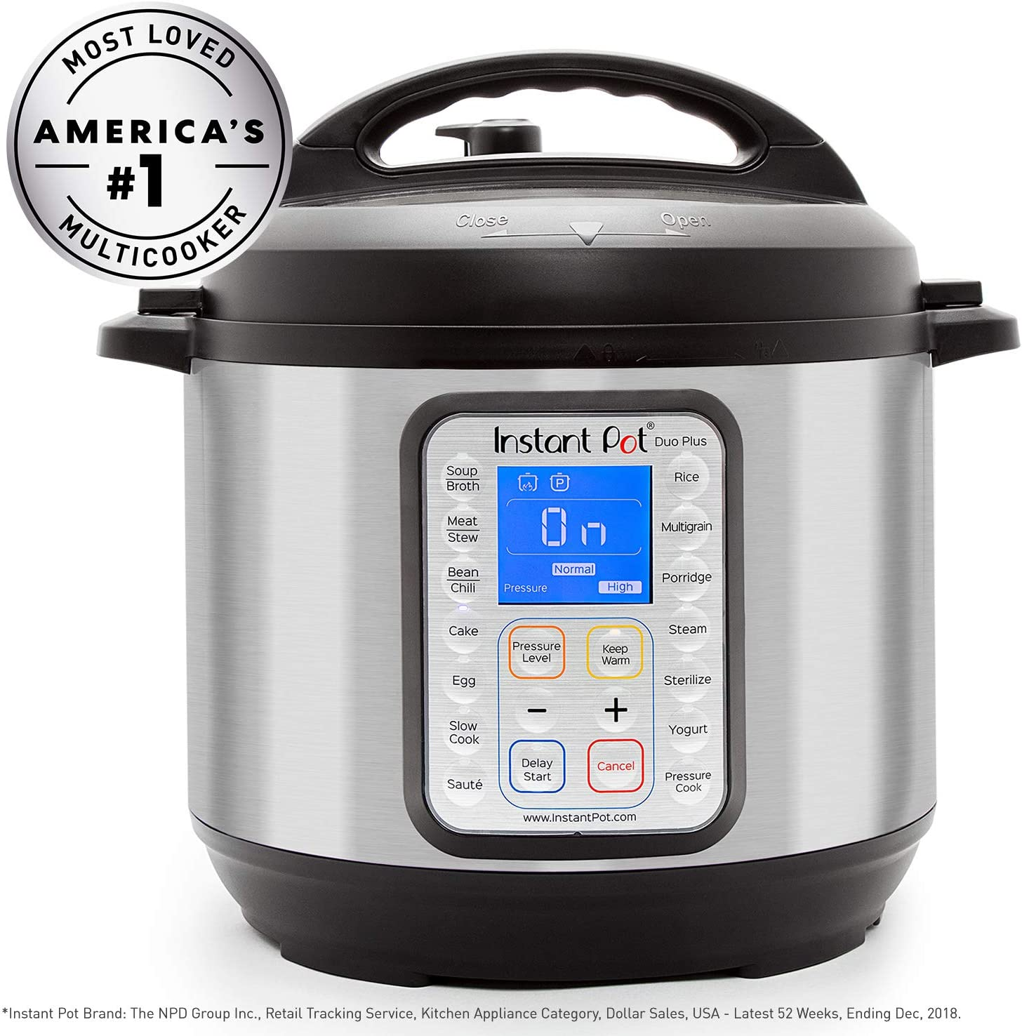 Amazon.com: Instant Pot 60 DUO Plus 6 Qt 9-in-1 Multi-Use ...