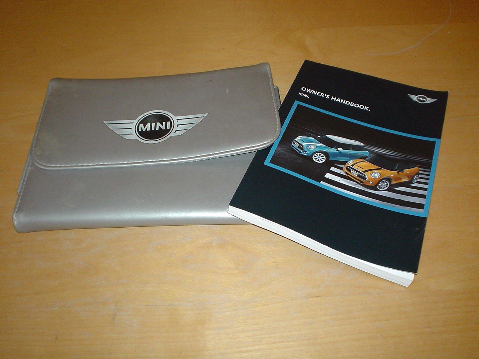 Mini F55 F56 Hatch Hardtop Owners Handbook Manual Not Haynes 2013