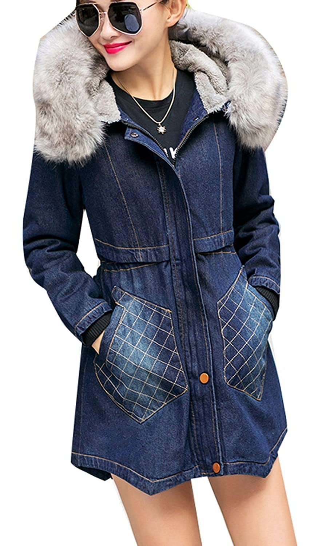 5 all damen dufflecoat hoodie