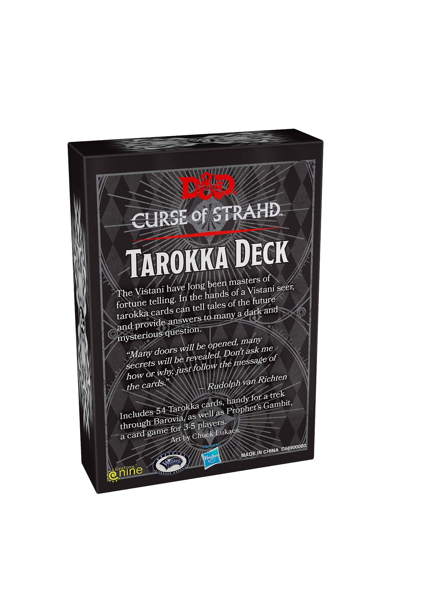 Buy Curse of Strahd Tarokka (Dungeons & Dragons) Book Online