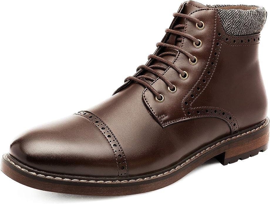 Cap Toe Oxford Boots