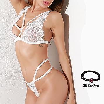 new concept 82a0d 000ca Huoduoduo Damen Sexy Lace Unterwäsche Set Schlaf, Sexy ...