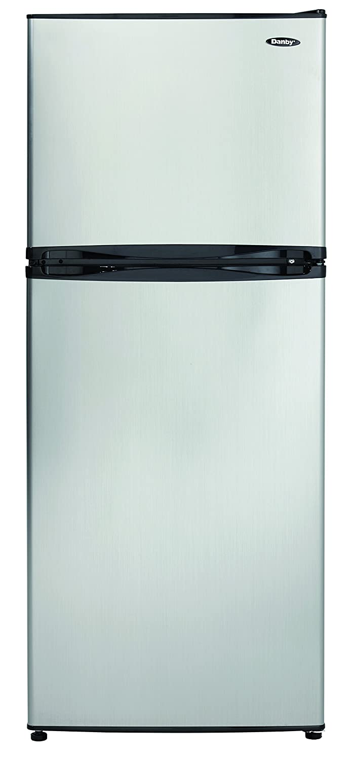Amazon.com: Danby DFF100C1BSLDB Refrigerator with Top-Mount ...