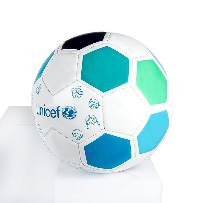 Unicef - Regalo Solidario Balón, Color Blanco/Azul, 5 (forletter DB17010693): Amazon.es: Juguetes y juegos