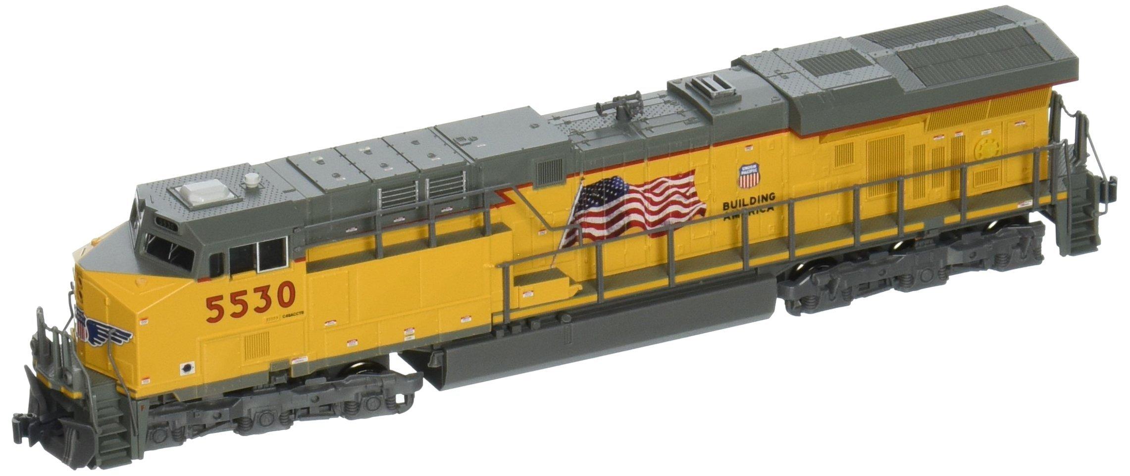 Kato USA Model Train Products N GE ES44AC ''Gevo'' Union Pacific Locomotive #5530 Train