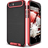 iPhone 5 / 5S / 5SE Cover, REALIKE™ Premium {Imported} Shock Proof Case for iPhone 5 - iPhone 5S (Envoy Series- Red)