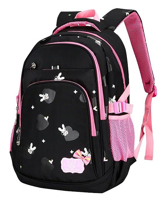 BAIJIAWEI - Mochila Casual Impermeable para Niñas Mochila Escolar para Colegio Adolescentes Backpack for School Mochila Casual Estampado Lindo - 8-12 Años ...