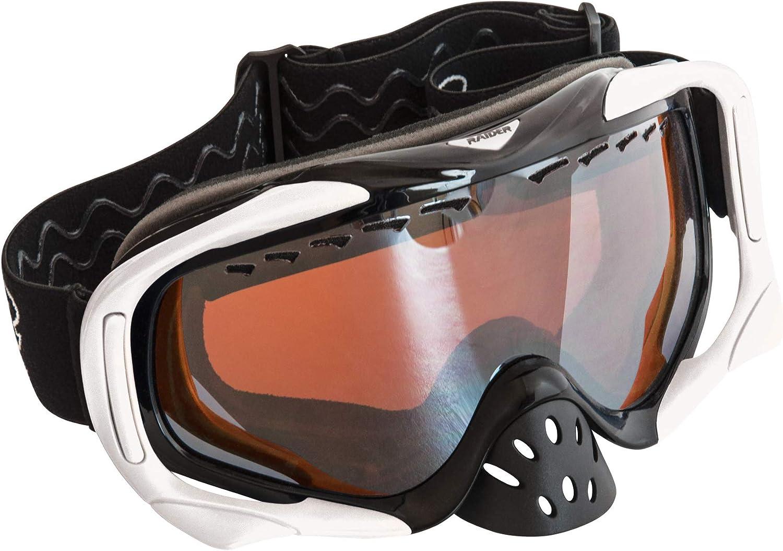Raider Elite Amp Black & White Goggles