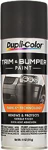 Dupli-Color TB102 Charcoal Black Trim and Bumper Paint - 11 fl. oz.