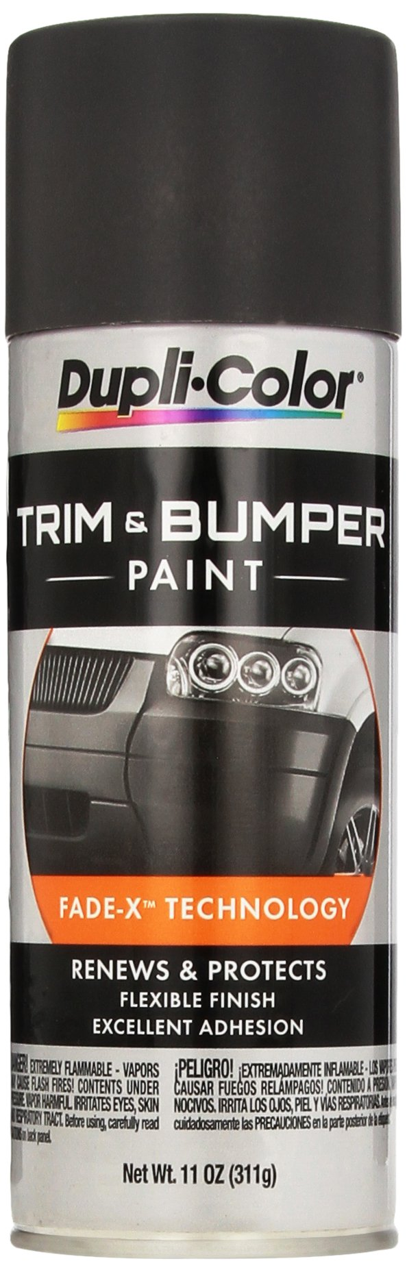 Dupli-Color TB102 Charcoal Black Trim and Bumper Paint - 11 fl. oz. by Dupli-Color