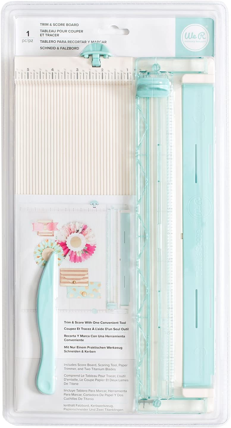 We R Memory Keepers Multi Staple Pack 500pc Storage 9 x 6.5 x 1 cm plastica Colour Bianco Sporco 34/x 2.3/x 39/cm 1 Multicolore