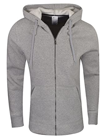 f52c9e49f Reebok Mens Cotton Blend Full Zip Hoodie at Amazon Men s Clothing store