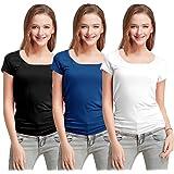 Fashion Line Multi Women's Short-Sleeve T-Shirt(Pack of 3)