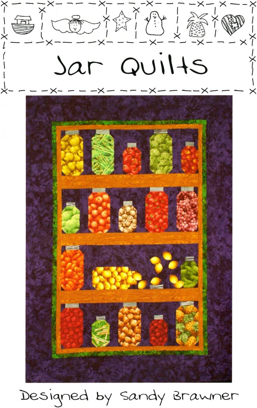 Jar Quilts Pattern by Sandy Brawner by Quilt Country 45