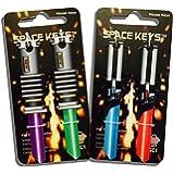 Set of 4 Saber Shaped Space Keys™ - Schlage SC1