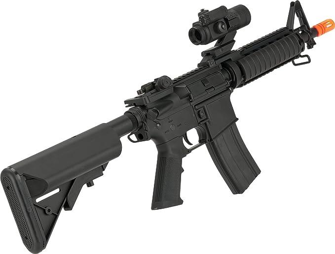Amazon.com: Evike Matrix Full Metal M4 RAS II Carbine ...