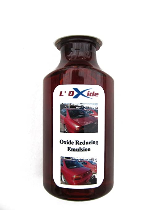 Oxide Reducing Emulsion to Restore Faded, Oxidized or Sun Damaged Car  Paint, Peeling Clear Coat and Dull Headlights in a Simple DIY Operation   Easier