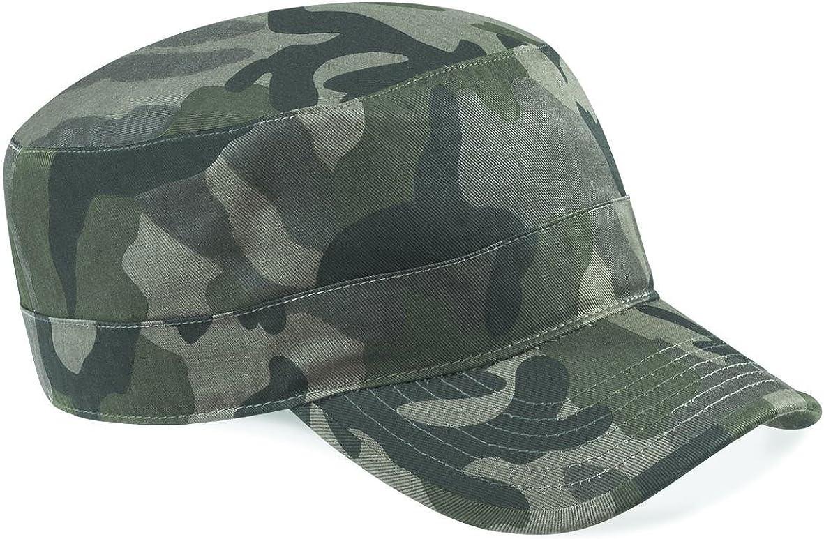 gorra de camuflaje del ejército Beechfield - Field Camo -: Amazon ...