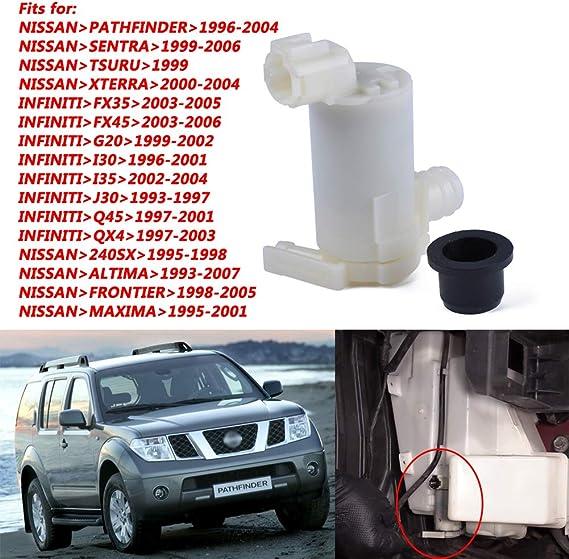 Ajuste for Honda Accord//FIT for C/ívico TSX Accesorios del Coche LnNcWcD Auto Parabrisas Parabrisas del Coche Bomba de Lavado Limpiaparabrisas 76846-TA0-A01