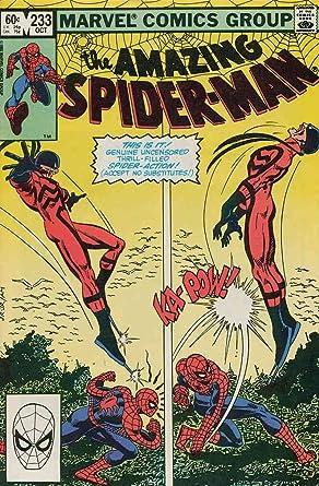 7bba4326ddbbc Amazon.com: Amazing Spider-Man, The #233 VF/NM ; Marvel comic book ...