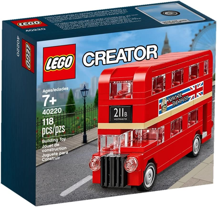LEGO 40220 Creator Double Decker London Bus by LEGO: Amazon.es ...