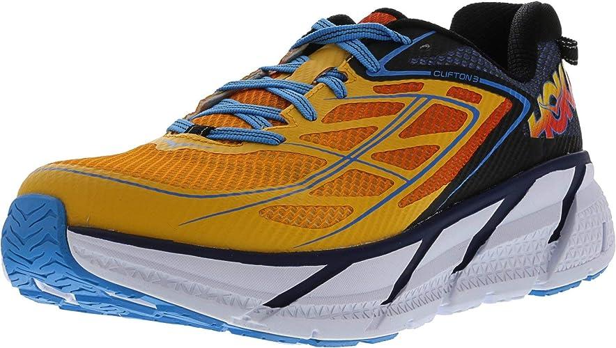 Zapatillas para correr de hombre Clifton 3 de Hoka One One - Variation, Azul: Amazon.es: Deportes y aire libre