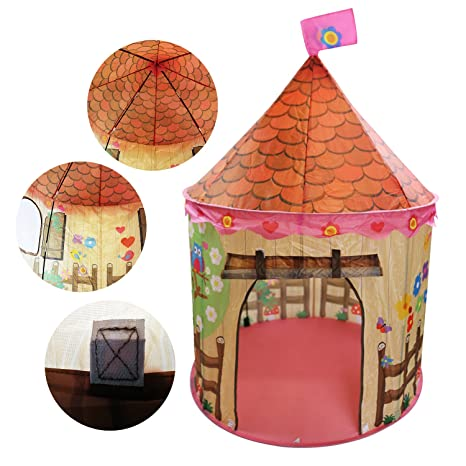 Amazon Com Wonlink Foldable Teepee Play Tent For Kids Castle