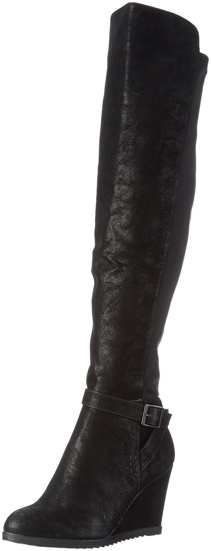 Björn Borg Footwear Bullboxer 037506E7S, Damen Langschaft Stiefel, Schwarz (BLCK), 38 EU