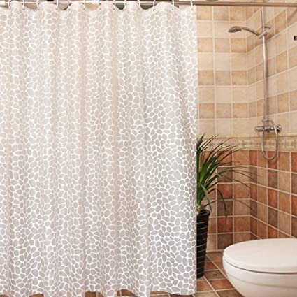 Shower Curtain More Impermeable Thick Prevent Mildew Off Peva Curtains Hardware 120X180Cm 180X180Cm