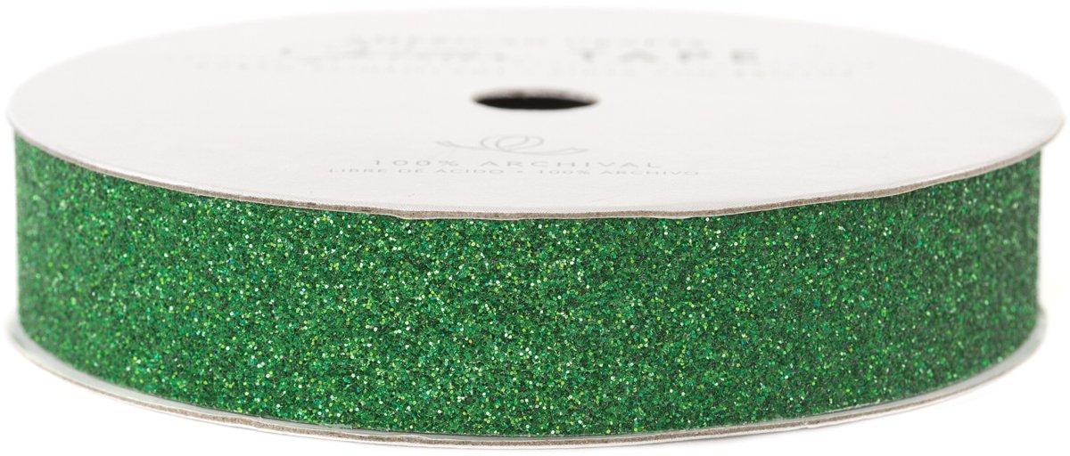 Glitter Paper Tape 3 Yards Spool-EverGrün .625  B00785Y61Y | Qualität zuerst