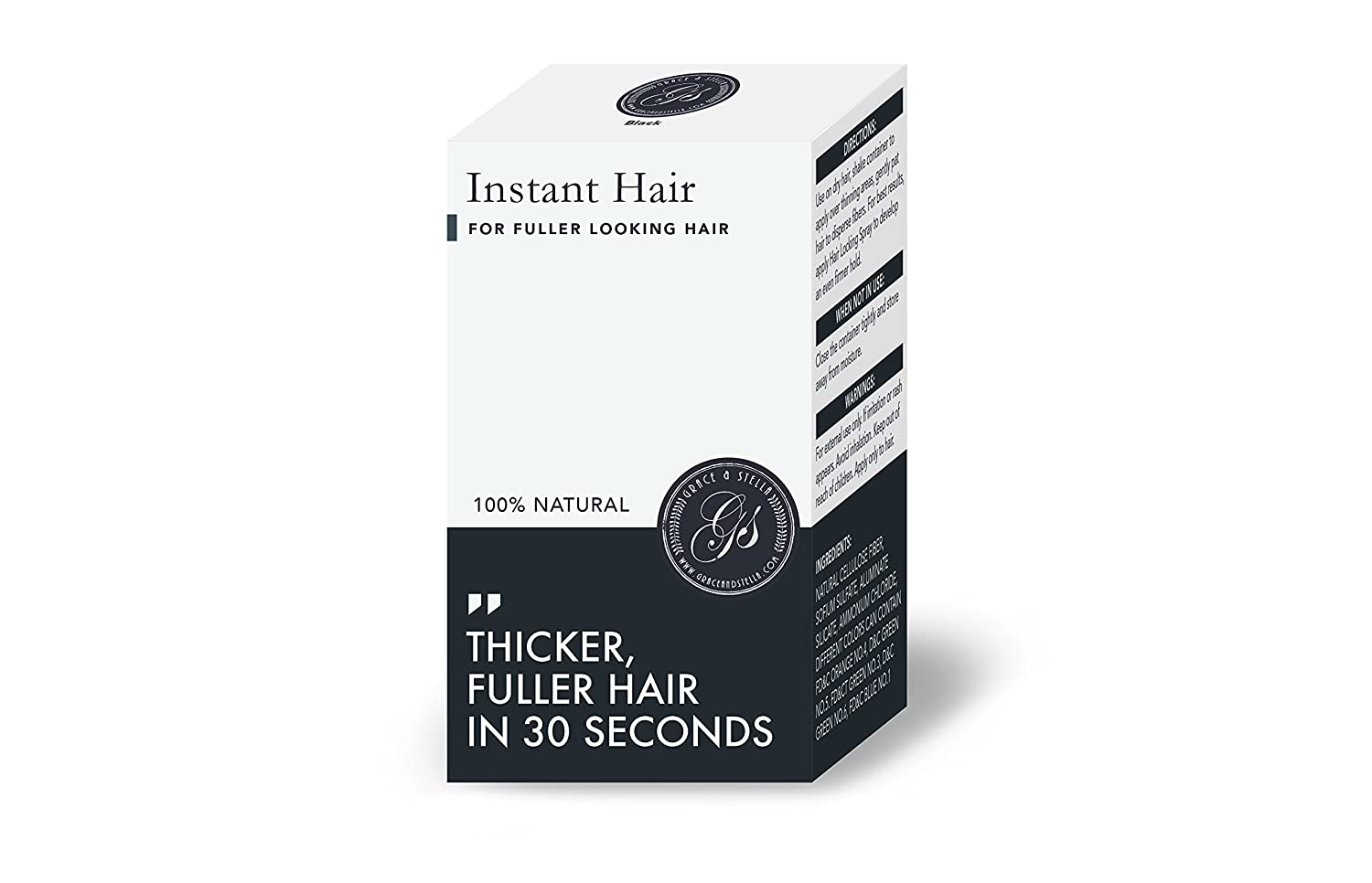 Amazon.com: Instant Hair Loss Treatment for Men & Women - 100%, Building Keratin Fibers Cover Thinning and Balding Spots - Make Hair Thicker (Light Brown) ...