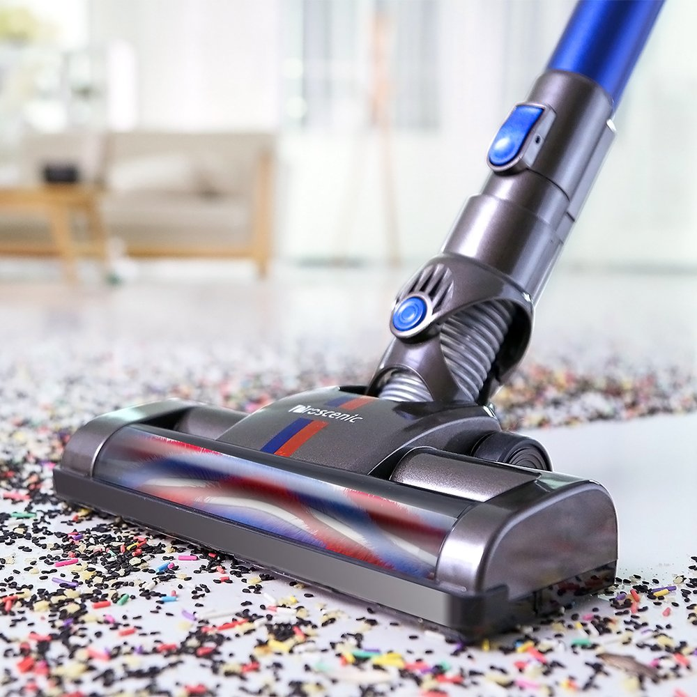 Proscenic P8 Vacuum Cleaner,Lightweight Stick Vacuum Cordless,Battery Rechargeable,Two Speeds Suction Power, Detachable Bagless Handheld Vacuum for Family and Car Cleaning by Proscenic (Image #6)