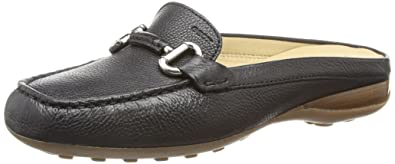 Geox Womens Euro 63 Moccasin, Black, ...