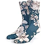 Floral Socks for Men by Kicky Jawbone