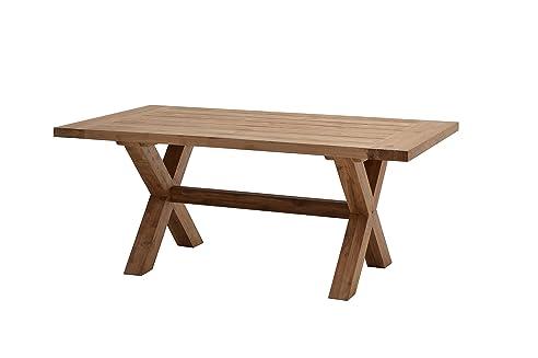Gartentisch holz massiv  Ploß Gartentisch Lincoln 180 x 100 cm - Terrassentisch Holz massiv ...