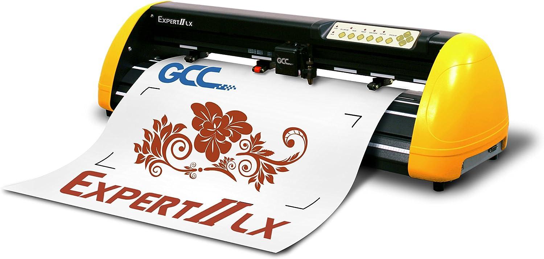 GCC Expert II EX II de 24LX Plóter Amarillo/Negro: Amazon.es ...
