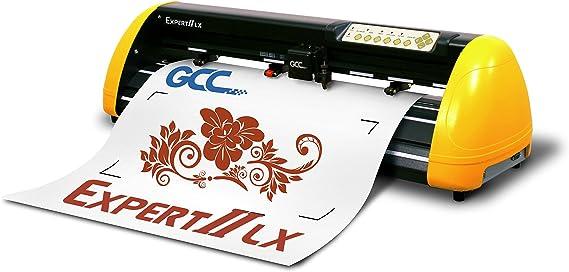GCC Expert II EX II de 24LX Plóter Amarillo/Negro: Amazon.es: Informática