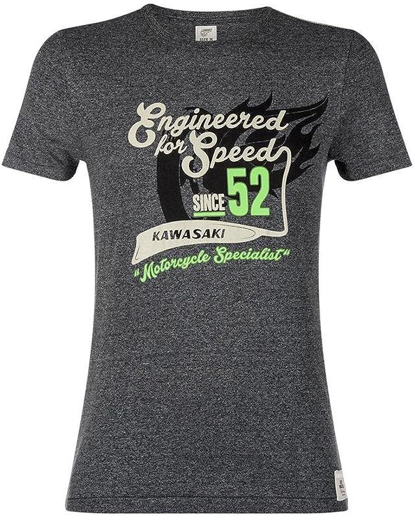 Kawasaki 52 Retro Speed – Camiseta: Amazon.es: Ropa y accesorios