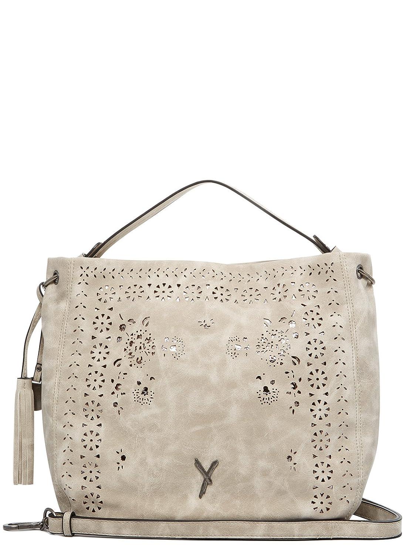 SURI FREY Mary Cityshopper Handtasche Tasche Light Grey Beige Grau Neu