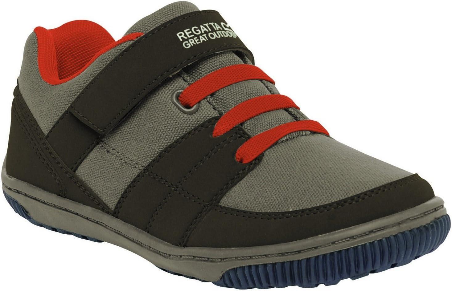 Regatta Girls Baseline Low Junior Walking Shoes Pink RKF416