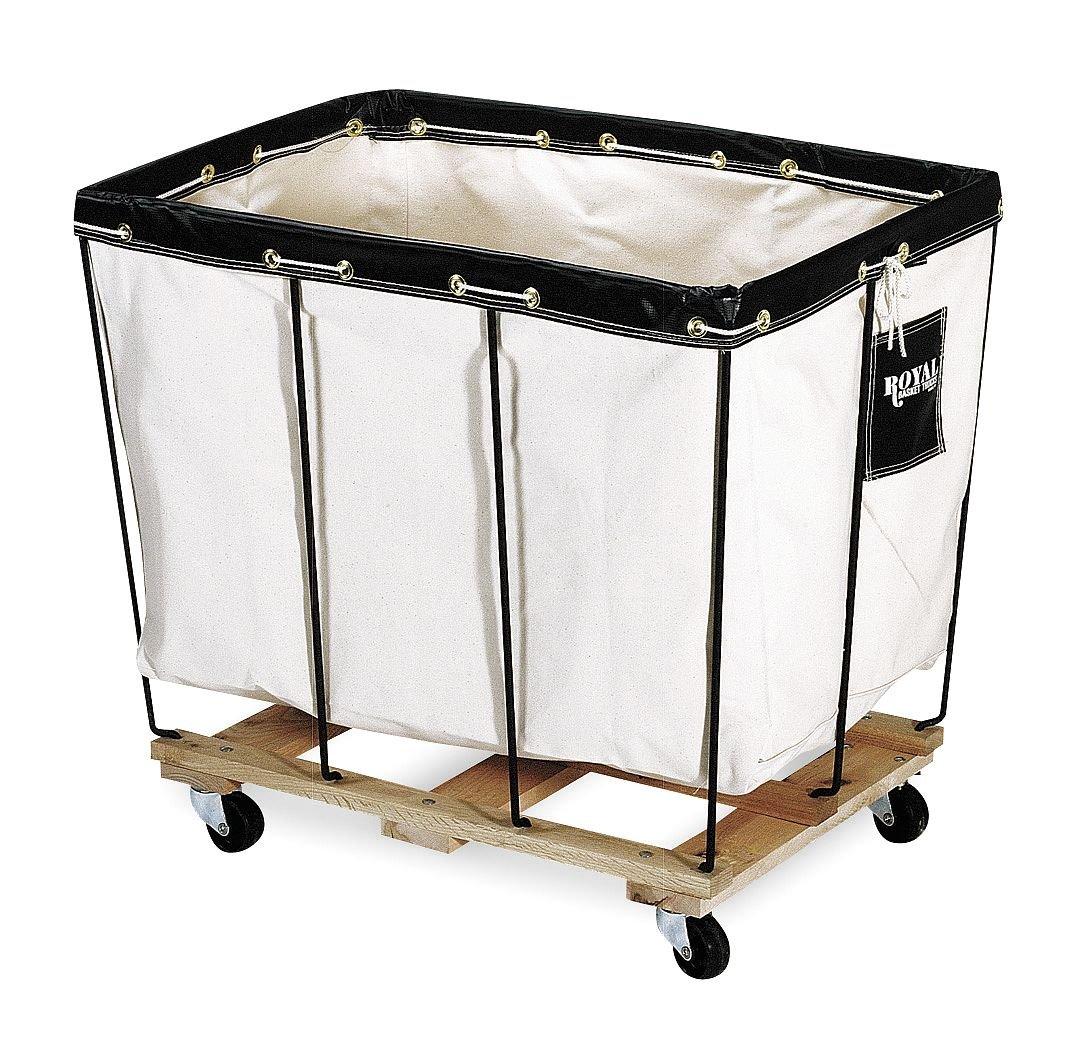 Permanent Liner Basket Truck, 6 Bu, Canvas