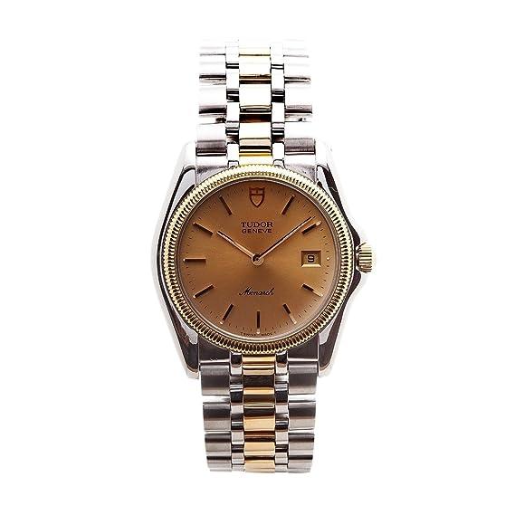 Tudor Monarch cuarzo Mens Reloj 15633 - (Certificado) de segunda mano: Tudor: Amazon.es: Relojes