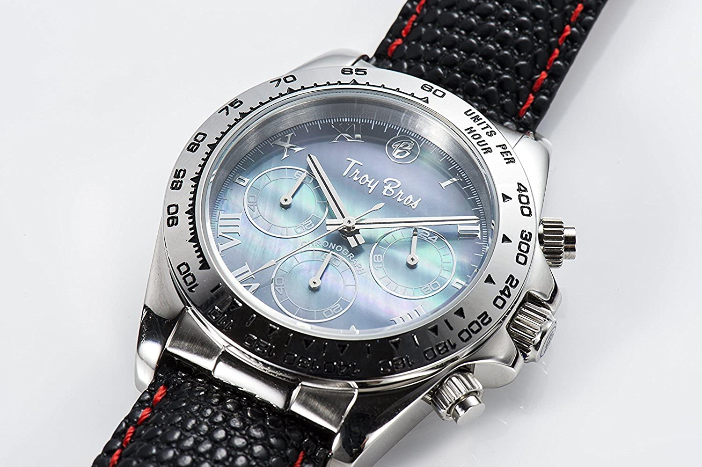 Troy Bros TFE-54004-11 - Reloj cronógrafo para hombre: Amazon.es: Relojes