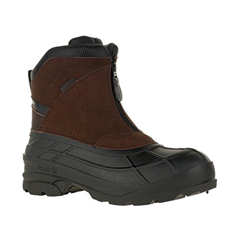 Kamik Men's Champlain2 Snow Boots & Toe warmers Bundle