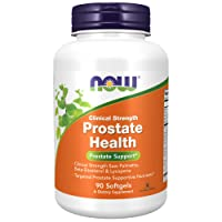 NOW Supplements, Prostate Health, Clinical Strength Saw Palmetto, Beta-Sitosterol...