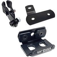 urban UR402 Soporte UR14S/UR10 para Fijar a Tubos y Tornillos, Universal, Negro