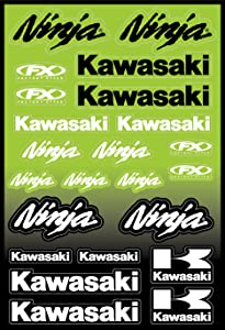 Factory Effex 15-68100 OEM Universal Graphic Kit for Kawasaki